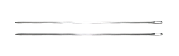 """Picture of 6"""" TATTING NEEDLES - 2 PACK"""