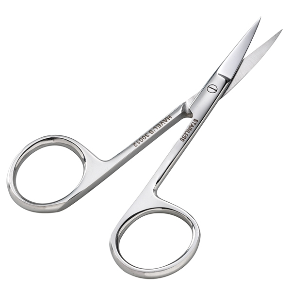 "Picture of 3 1/2"" EMBROIDERY SCISSORS WITH CURVED TIP"