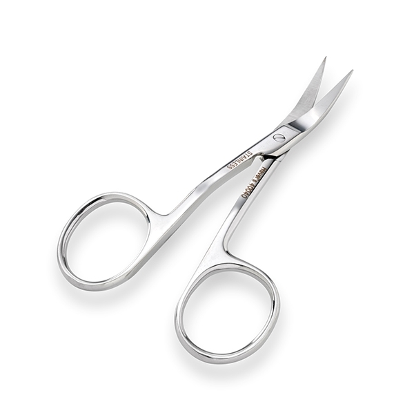 "Picture of LEFT HANDED 3 1/2"" DOUBLE-CURVED EMBROIDERY SCISSORS"