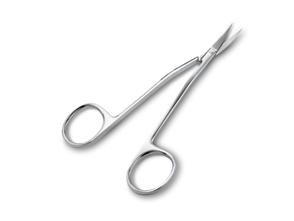 "Picture of 5"" DOUBLE-CURVED SCISSORS"