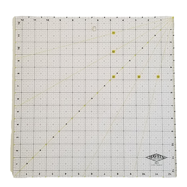 "Picture of FABRIC RULER, 12.5"" x 12.5"" SQUARE"